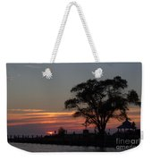 Pier A Long Way Out 5 Weekender Tote Bag