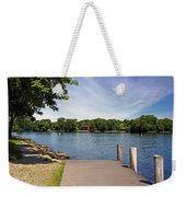 Pier At Kimberly Point Weekender Tote Bag