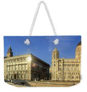 Pier Head Liverpool Panorama 2 Weekender Tote Bag