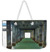 Pier Into The Sunset Weekender Tote Bag
