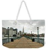Pier Shot Weekender Tote Bag