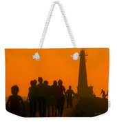 Pier Walkers Weekender Tote Bag