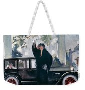 Pierce-arrow Ad, 1925 Weekender Tote Bag