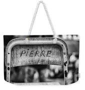 Pierre Weekender Tote Bag