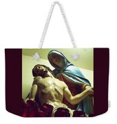 Pieta And The Candles Weekender Tote Bag