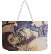 Pieta-mural Detail Weekender Tote Bag