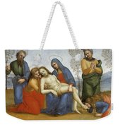 Pieta Raffaello Sanzio Da Urbino Raphael Raffaello Santi Weekender Tote Bag