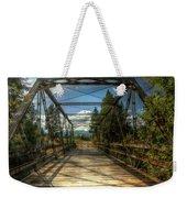 Pigeon Bridge Weekender Tote Bag