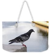 Pigeon By The River Weekender Tote Bag