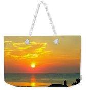 Pigeon Cove Summer Sunrise Weekender Tote Bag