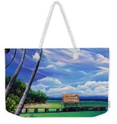 Pigeon Point   Tobago Weekender Tote Bag