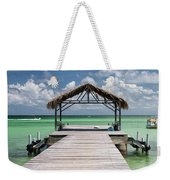 Pigeon Point, Tobago#pigeonpoint Weekender Tote Bag