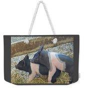 Piggyback Weekender Tote Bag