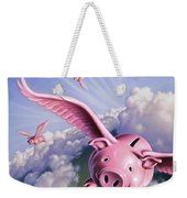 Pigs Away Weekender Tote Bag