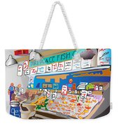 Pike Place Fish Co. Weekender Tote Bag