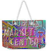 Pike Place Market 3 Weekender Tote Bag