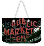 Pike Place Market Entrance 5 Weekender Tote Bag