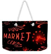 Pike Place Market Entrance 6 Weekender Tote Bag