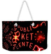 Pike Place Market Entrance 7 Weekender Tote Bag
