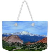 Pikes Peak And Garden Of The Gods 1 Weekender Tote Bag