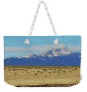 Pikes Peak Painterly Weekender Tote Bag