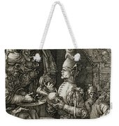 Pilate Washing His Hands Weekender Tote Bag