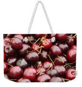 Pile Of Cherries Weekender Tote Bag