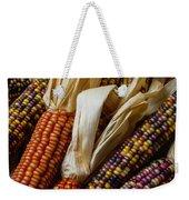 Pile Of Indian Corn Weekender Tote Bag