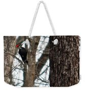 Pileated Billed Woodpecker Weekender Tote Bag
