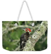 Pileated Perch Weekender Tote Bag