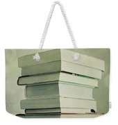 Piled Reading Matter Weekender Tote Bag