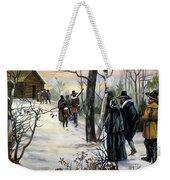 Pilgrims: Church Weekender Tote Bag