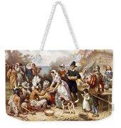 Pilgrims: Thanksgiving, 1621 Weekender Tote Bag