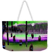 Pilings Of The Past Weekender Tote Bag