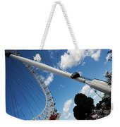 Pillar Of London S Ferris Wheel  Weekender Tote Bag