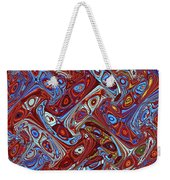 Pillars In The Sky Abstract #4 Weekender Tote Bag