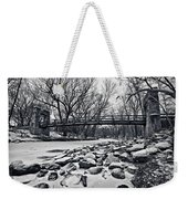 Pillars On The Shore Weekender Tote Bag