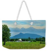 Pilot In The Clouds Weekender Tote Bag