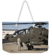 Pilots Prepare For Their Mission In An Weekender Tote Bag