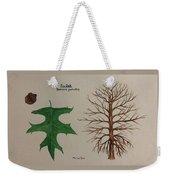 Pin Oak Tree Id Weekender Tote Bag