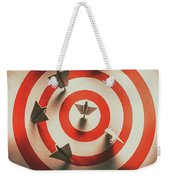 Pin Point Your Target Audience Weekender Tote Bag