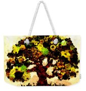Pinatamiche Tree Painting In Crackle Paint Weekender Tote Bag