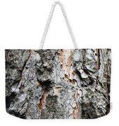 Pine Bark Weekender Tote Bag