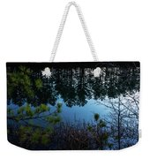 Pine Barren Reflections Weekender Tote Bag