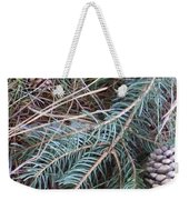 Pine Cone Brush Weekender Tote Bag
