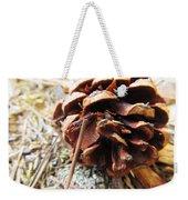 Pine Cone Weekender Tote Bag