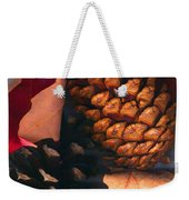 Pine Cones And Leaves Weekender Tote Bag