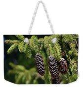 Pine Cones On The Bough Weekender Tote Bag