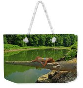 Pine Creek Afternoon Weekender Tote Bag