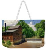 Pine Creek Gristmill Weekender Tote Bag